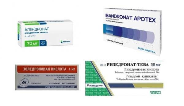 бисфосфонаты для лечения остеопороза названия медицинских препаратов