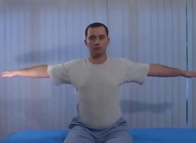 гимнастика шишонина при остеохондрозе шейного без музыки