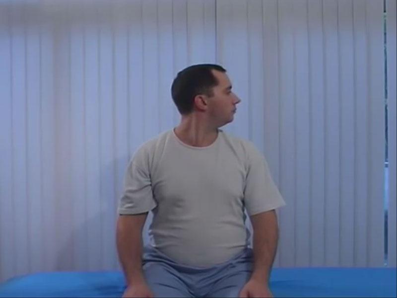 гимнастика шишонина при остеохондрозе шейного отдела видео