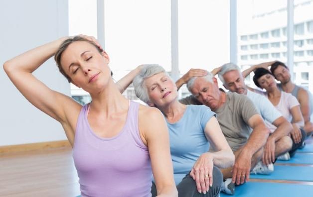 комплекс упражнений при остеохондрозе поясничного отдела