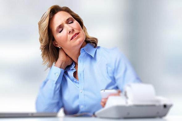 остеохондроз шейного отдела позвоночника симптомы у женщин
