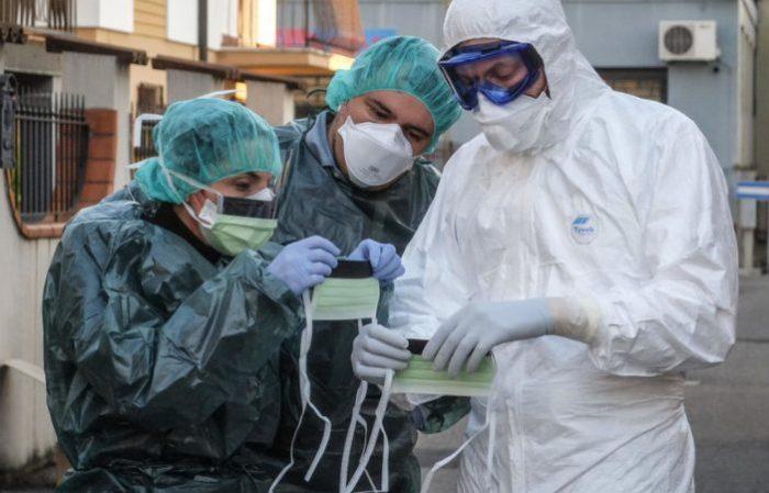 зараженные коронавирусом в москве